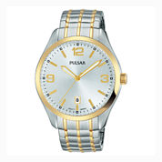 Pulsar® Men's Traditional Expansion Two-Tone Watch PS9490