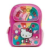 Hello Kitty® Rainbow Hearts Backpack - Girls 7-16