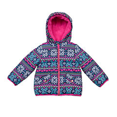 Carter's® Snowflake Long-Sleeve Coat - Preschool Girls