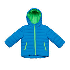 Carter's® Blue Quilted Long-Sleeve Hooded Coat - Toddler 2-4T