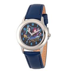 Disney Descendants Boys Blue Strap Watch-Wds000252
