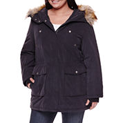 a.n.a® Faux Fur Trim Parka - Plus