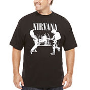 Nirvana Short-Sleeve Tee - Big & Tall