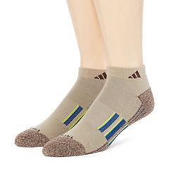 adidas® Mens 2-pk. climalite® Performance Low-Cut Socks