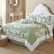 Nostalgia Home Aliani Scroll Applique Quilt