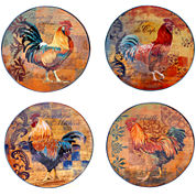 Certified International Rustic Rooster Dinnerware Collection