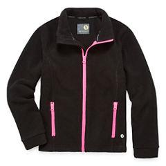 Xersion Lightweight Fleece Jacket-Big Kid Girls