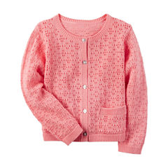 Carter's Long Sleeve Cardigan - Preschool Girls