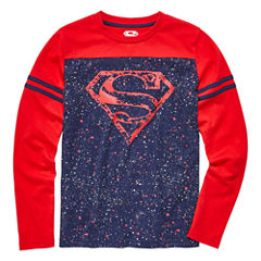 Superman Graphic T-Shirt-Big Kid Boys