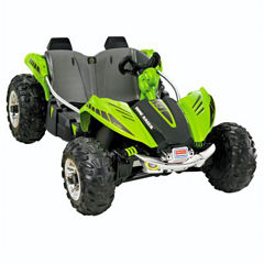 Fisher-Price Power-Wheels Green Dune Racer