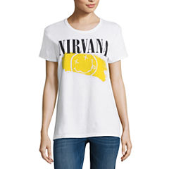 Nirvana Graphic T-Shirt- Juniors
