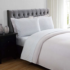Truly Soft Everyday Lattice Microfiber Sheet Set