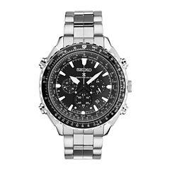 Seiko Mens Silver Tone Bracelet Watch-Ssg001