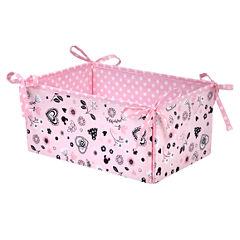 Crown Crafts Disney Minnie Hello Organizer Toy Box