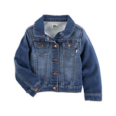 Oshkosh Girls Denim Jacket-Baby