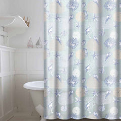 Peva Coral 13-pc. Shower Curtain Set
