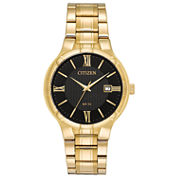 Citizen Mens Gold Tone Bracelet Watch-Bi5022-50e
