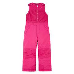 Vertical 9 Heavyweight Snow Bibs-Preschool Girls