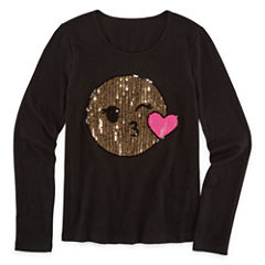 Total Girl Graphic T-Shirt-Big Kid Girls