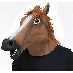 Buyseasons Horse Head Mask Unisex Dress Up Accessory