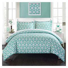 Chic Home Elizabeth 3-pc. Duvet Cover Set