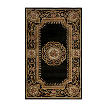 Momeni Atlantis Hand carved Wool Rectangular Rug