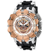 Invicta Mens Black Strap Watch-20426