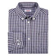 IZOD® Long-Sleeve Gingham Shirt - Boys 8-20