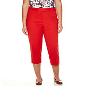Liz Claiborne® Emma Fall Ankle Pants - Plus