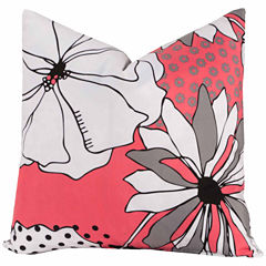 Crayola Flower Patch Throw Pillow