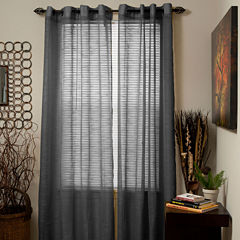 Cambridge Home Mia Jacquard Grommet-Top Curtain Panel