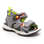 Carter's® Boys Sharkon Light-Up Sandals - Toddler
