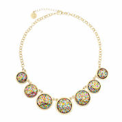 Liz Claiborne® Acrylic Collar Necklace