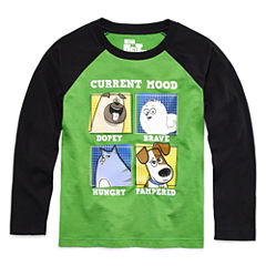 Secret Life of Pets Long-Sleeve Raglan Tee - Preschool Boys 4-7