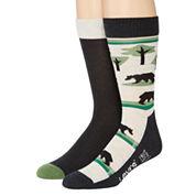 Levi's® 2-pk. Cushioned Crew Socks