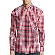 St. John's Bay® Long-Sleeve Legacy Poplin Sport Shirt