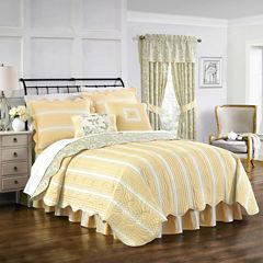 Waverly Paisley Verveine Floral Quilt Set