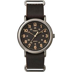 Timex® Mens Brown Weekender Watch