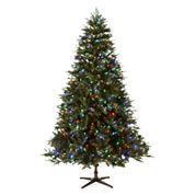 North Pole Trading Co. 7.5' Aspen Pre-Lit Tree