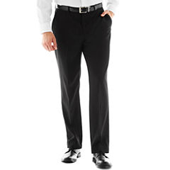 Dockers® Black Flat-Front Suit Pants