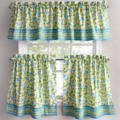Park B Smith Boutique Flowers Kitchen Curtains