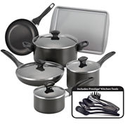 Farberware® 15-pc.Nonstick Cookware Set with Prestige® Kitchen tools