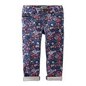 OshKosh B'gosh Floral Skinny Woven Pants - Toddler Girls 2t-5t