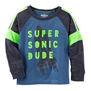 OshKosh B'gosh Long-Sleeve Super Sonic Tee - Toddler Boys 2t-5t