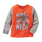 OshKosh B'gosh® Long-Sleeve Knit Tee - Toddler Boys 2t-5t