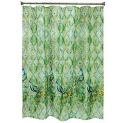 Bacova Guild Peacock Shower Curtain