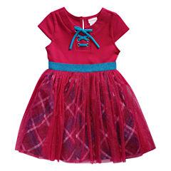 Lilt Short Sleeve Tutu Dress - Toddler Girls