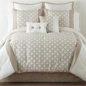 Quad 6-pc. Jacquard Comforter Set