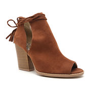 Qupid Barnes Lace-Up Booties