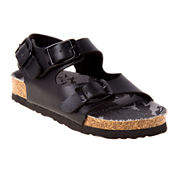 Josmo Boys Strappy Buckle Sandals - Toddler